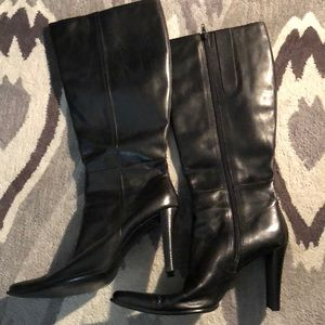 Michael Shannon Teresa Leather Boots